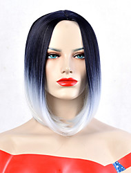 cheap -Synthetic Wig Wavy Pixie Cut Short Bob Wig Short Grey Synthetic Hair Women's Heat Resistant Synthetic New Arrival Gray