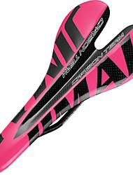 cheap -Bike Saddle / Bike Seat Comfort Carbon Fiber Cycling Road Bike Mountain Bike MTB Pink