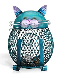 cheap -Piggy Bank / Money Bank Cat Cute Creative Metal Teenager Children's Toy Gift