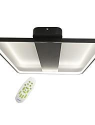 cheap -1-Light Geometric Square Modern Style Simplicity Electrodeless Dimming LED Ceiling Lamp Flush Mount Living Room Light