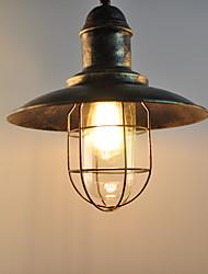 Недорогие -CXYlight 30 cm Подвесные лампы Металл шишка Окрашенные отделки Деревенский стиль / Ретро 110-120Вольт / 220-240Вольт