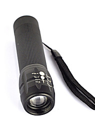 cheap -500 lm LED Flashlights / Torch / Handheld Flashlights / Torch LED 1 Mode Professional / Wearproof / Lightweight