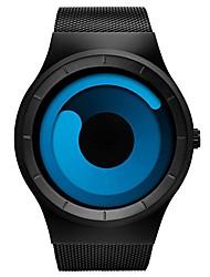 Недорогие -Муж. Модные часы электронные часы Кварцевый Черный 30 m Защита от влаги Календарь Хронометр Аналоговый На каждый день - Синия / Черный Черный / Rose Red Два года Срок службы батареи