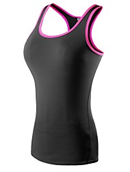 cheap -Women's Compression Tank Top Spandex Yoga Fitness Gym Workout Compression Clothing Tank Top Sleeveless Activewear Lightweight Fast Dry Breathability Stretchy Stretchy
