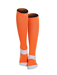 cheap -Nylon Men's Women's Solid Colored Compression Socks Long Socks Anti-Slip Wearable Non Slip Sports & Outdoor 1 Pair