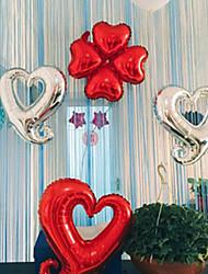 abordables -Déco de Mariage Unique Papier d'Aluminium Décorations de Mariage Mariage / Anniversaire Thème plage / Thème jardin / Thème Vegas Toutes les Saisons