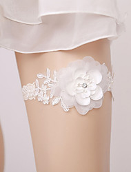 cheap -Lace Classic Jewelry / Lace Wedding Garter With Floral / Appliques Garters Wedding / Party & Evening