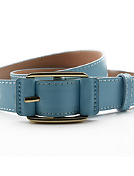 cheap -Women's Work Leather / Alloy Waist Belt - Solid Colored / All Seasons