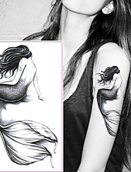 cheap -5 pcs Tattoo Stickers Temporary Tattoos Cartoon Series Body Arts Wrist