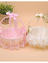 "cheap -Flower Basket Lace 8 1/3"" (21 cm) Bowknot / Satin Flower / Lace 1 pcs"