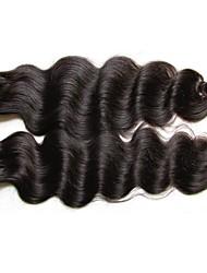 cheap -Virgin Human Hair / Remy Human Hair Hair weave Extention / For Black Women / 100% Virgin Wavy Brazilian Hair / Bundles 12 inch 200g 12