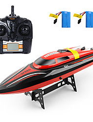 cheap -RC Boat H101 Plastics 4 pcs Channels 30 km/h KM/H