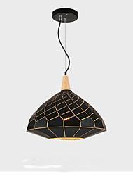 cheap -QINGMING® Geometric Pendant Light Downlight Painted Finishes Metal Mini Style 110-120V / 220-240V Bulb Not Included / VDE / E26 / E27