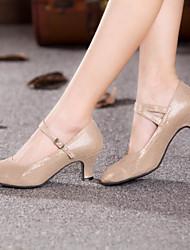 cheap -Women's Dance Shoes Customized Materials Modern Shoes/Character Shoes Heel Customized Heel Customizable Black / Gold / Blue / Indoor / EU42