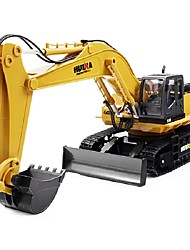 cheap -RC Car 1510 4CH 2.4G Excavator 1:16 Brush Electric 60 km/h