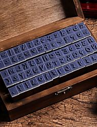 Недорогие -Дерево / Бамбук Темно-коричневый 1 / коробка Наборы марок 15*8.5*5cm
