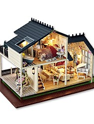 abordables -Maison de Poupées Créatif A Faire Soi-Même Exquis Mini Meuble En bois Romantique 1 pcs Tous Fille Jouet Cadeau