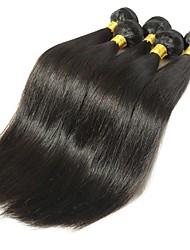 cheap -6 Bundles Indian Hair Straight Remy Human Hair Natural Color Hair Weaves / Hair Bulk Bundle Hair One Pack Solution 8-28inch Natural Color Human Hair Weaves Newborn Waterfall Cute Human Hair Extensions