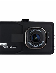 cheap -1080p Night Vision Car DVR 140 Degree Wide Angle 3 inch Dash Cam with motion detection No Car Recorder