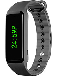 Недорогие -Муж. Жен. электронные часы Цифровой силиконовый Черный Секундомер ЖК экран Повседневные часы Цифровой Мода Элегантный стиль - Черный / тахометр
