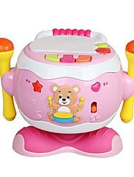 cheap -Intex Tambourine Music Sound Material Unisex Boys' Girls' Baby 1 pcs Graduation Gifts Toy Gift