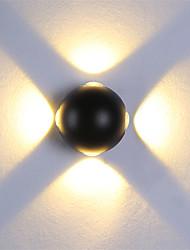 Недорогие -современный 12w привело стены бран крытый прихожая стены свет пятно светло-металлическое декоративное освещение ac85-265v