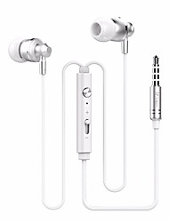 cheap -M300 Wired Wired Headphones Metal Mobile Phone Earphone Headset