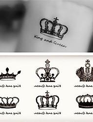 Недорогие -10 pcs Временные тату Временные татуировки Романтическая серия Искусство тела рука
