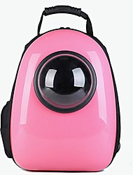 cheap -Dog Rabbits Cat Carrier Bag & Travel Backpack Waterproof Portable Mini Pet Oxford Cloth Solid Colored Classic Fashion Black Silver Pink