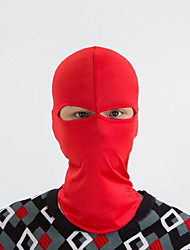 cheap -Balaclava Pollution Protection Mask Solid Color Windproof Warm Fast Dry Dust Proof Bike / Cycling Black Grey White Spandex for Men's Women's Adults' Camping / Hiking Ski / Snowboard Outdoor Exercise