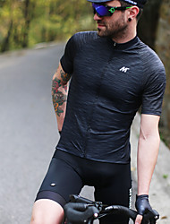 cheap -Mysenlan Men's Short Sleeve Cycling Jersey Bike Jersey Mountain Bike MTB Road Bike Cycling Sports Polyester Taffeta Clothing Apparel / Micro-elastic / Expert / Expert / Breathable Armpits