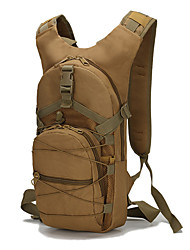 cheap -15 L Hiking Backpack Military Tactical Backpack Rain Waterproof Wear Resistance Outdoor Cycling / Bike Camping Military / Tactical Oxford Brown Army Green Camouflage