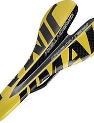 cheap -Bike Saddle / Bike Seat Comfort Carbon Fiber Cycling Road Bike Mountain Bike MTB Black / Yellow