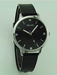 cheap -Women's Wrist Watch Quartz Black / White / Red Casual Watch Analog Ladies Fashion Minimalist - Red Pink Light Blue