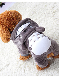 cheap -Dog Cat Pets Sweater Sweatshirt Puppy Clothes Plaid / Check Solid Colored Rabbit / Bunny One Piece Casual / Daily Dog Clothes Puppy Clothes Dog Outfits Gray Costume for Girl and Boy Dog Cotton XXS XS