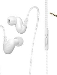Недорогие -LITBest D-15 Наушники-вкладыши Проводное Стерео С микрофоном Мобильный телефон