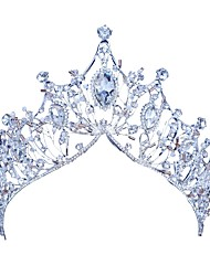 cheap -Alloy Tiaras / Headpiece with Rhinestone 1pc Wedding / Special Occasion Headpiece