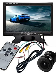 cheap -ZIQIAO 7 Inch TFT-LCD CCD Multi-functional display / 170 Degree Waterproof Car Rear View Kit