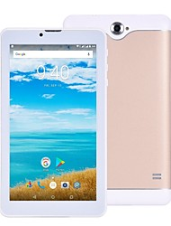 Недорогие -Ampe 706 7 дюймовый Фаблет (Android 4.4 1024 x 600 Quad Core 1GB+8Гб) / 32 / TFT / Micro USB / Количество SIM-карт / Слот для карт памяти TF