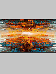cheap -Mintura® Hand Painted Modern Abstract Knife Oil Paintings On Canvas Wall Art Picture For Home Decoration Ready To Hang