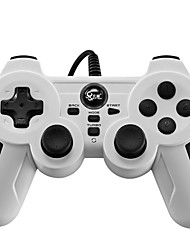 cheap -BTP-2163X Wired Game Controller For Sony PS3 / PC ,  Vibration Game Controller ABS 1 pcs unit