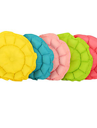 cheap -Dogs Cats Mattress Pad Bed Bed Blankets Cotton Pet Mats & Pads Solid Colored Foldable Soft Adjustable Flexible Yellow Green Blue