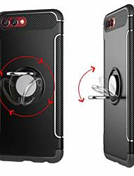 abordables -Coque Pour Huawei Honor 9 / Huawei Honor 9 Lite / Honor 8 Anneau de Maintien Coque Couleur Pleine Dur PC