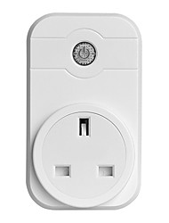 cheap -Smart Socket / Smart Plug Timing Function / Dimmable / Control Your Fixture From Anywhere 1pc ABS+PC / 750°C / anti-flame retardant Remote Control / APP / Andriod 4.2 Above Amazon Alexa Echo / Google