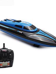 cheap -RC Boat H100 Plastics 4 pcs Channels 35 km/h KM/H