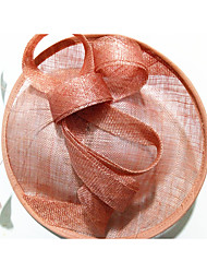 cheap -Flax Fascinators / Headpiece with Feather / Flower 1pc Wedding / Party / Evening Headpiece