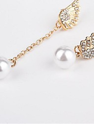 cheap -Drop Earrings Mismatched Ladies Vintage Sweet Fashion Pearl Earrings Jewelry Gold For Wedding Birthday