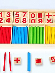 cheap -Montessori Teaching Tool Toy Abacus Educational Toy Parent-Child Interaction Wooden 1 pcs Kid's Toy Gift / Develop Creativity