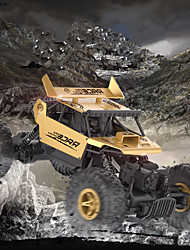 cheap -RC Car Flytec 9118 2CH 2.4G Rock Climbing Car / Off Road Car 1:18 20 km/h