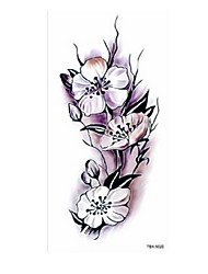 cheap -5 pcs Tattoo Stickers Temporary Tattoos Flower Series / Romantic Series Body Arts Body / Shoulder / Leg
